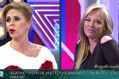 """Ágatha despelleja a Pedrojota y Belén Esteban le ayuda: """"será hijo de..."""""""