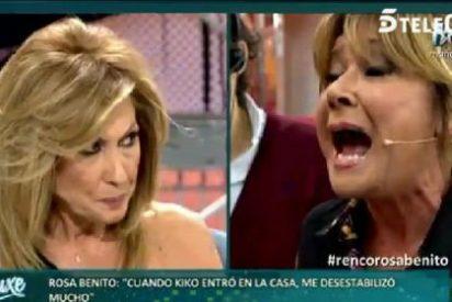 ¡Miedo!: Rosa Benito le va a quitar la silla a Mila Ximénez