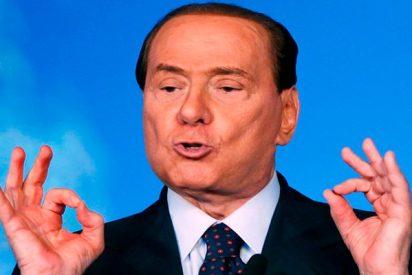 A pesar de ser uno de los políticos mas polémicos del planeta Berlusconi se perfila como ganador de las próximas generales italianas