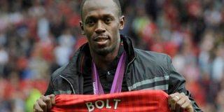 Usain Bolt obligado a pasar una exigente prueba para intentar jugar al fútbol en el Manchester United