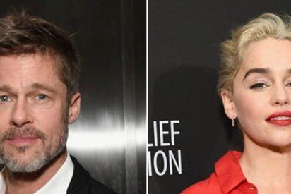 "Brad Pitt ofreció un pastizal para ver un capitulo de ""Game of Thrones"" junto a Emilia Clark"
