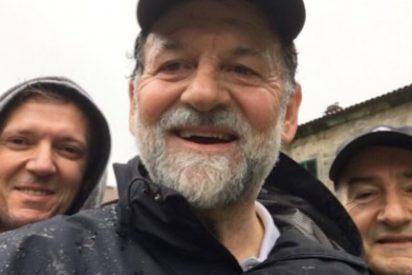 Cachondeo en las redes con esta foto de Mariano Rajoy