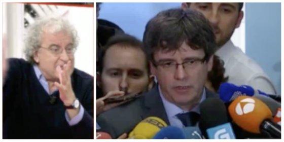 """Calleja retrata al desquiciado Puigdemont: """"Se puso un gorro de Napoleón y ha hecho el loco"""""""