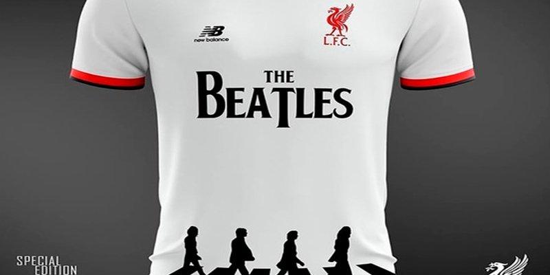Así sería la maravillosa camiseta del Liverpool en homenaje a los Beatles