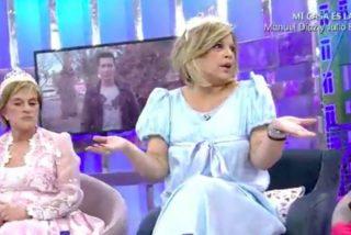 'Telecinco' y 'Sálvame' hunden en minuto y medio la credibilidad profesional de María Teresa Campos
