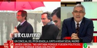 """El comunista Llamazares enloquece y dice que Boadilla es el """"último reducto nazi"""" de España"""