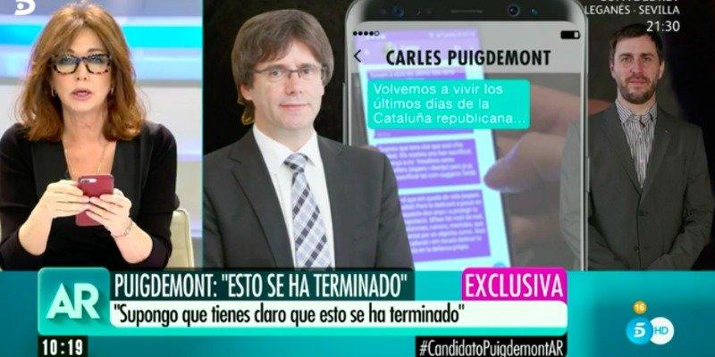 El mensaje del escolta de Comín que da un sospechoso giro al caso Puigdemont