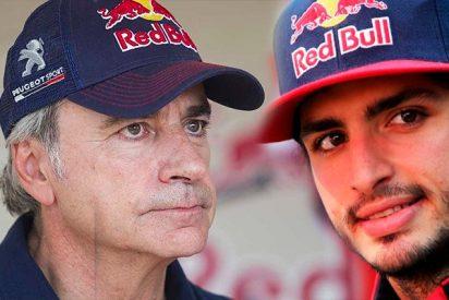 """Carlos Sainz a su padre: """"Eres cabezota como tú solo, querías otro Dakar"""""""