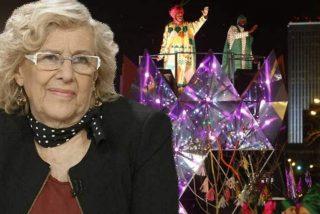 Manuela Carmena, contra los famosos: fulmina de nuevo el palco VIP de la cabalgata de Reyes