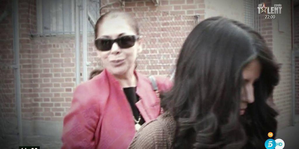 Isabel Pantoja despide a su hija y denuncia a Alejandro Albalá
