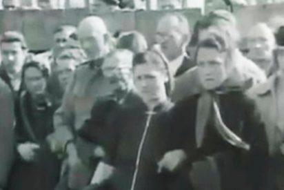 Así de mal lo pasaban los civiles alemanes al ver las atrocidades del régimen nazi en los campos de exterminio