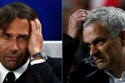 Premier: el 'senil' pero insumergible Mourinho sacude a Conte hasta en el velo del paladar