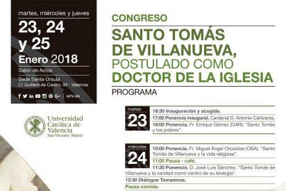 Congreso 'Santo Tomás de Villanueva, postulado como Doctor de la Iglesia'
