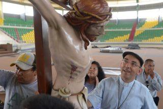 Así es el Cristo que acompañará al Papa en su encuentro con los pueblos indígenas
