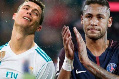 El Real Madrid le propondría al PSG cambiar a Cristiano Ronaldo por Neymar