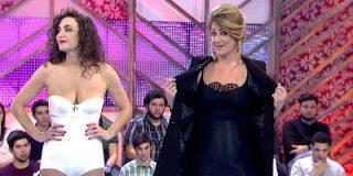 Carlota Corredera se despelota en 'Cámbiame': ¿Es para que no la echen?