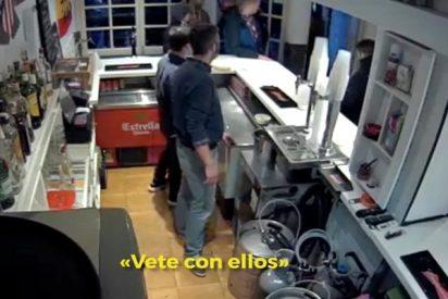 El terrible vídeo de la agresión a cuchilladas del ultra del Atlético: «¡Nacho, vale ya, es un niño!»