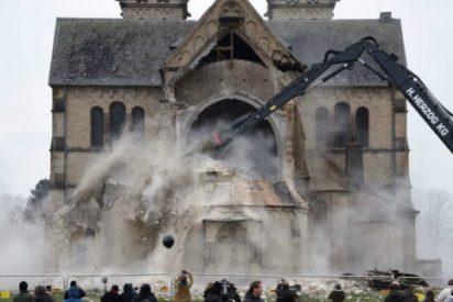 Derriban una iglesia alemana para ampliar una mina