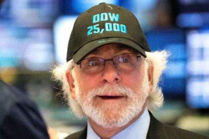 Wall Street al alza: el Dow Jones supera los 25.000 puntos por primera vez en la Historia