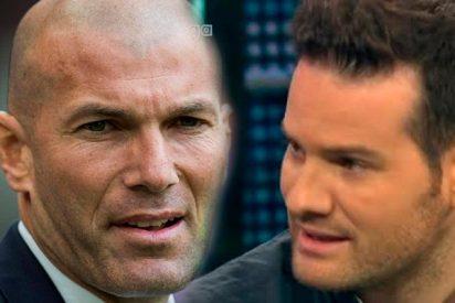 Quim Doménech minimiza la victoria del Real Madrid... ¡a la 'flor' de Zidane!