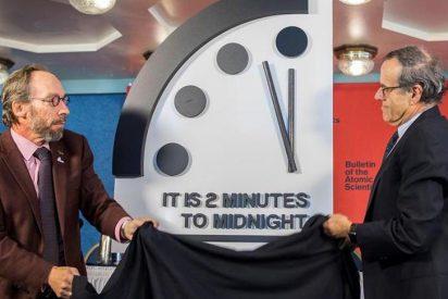 Los científicos colocan el 'Reloj del Juicio Final' a dos minutos del apocalipsis