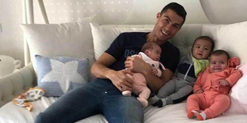 Cristiano Ronaldo quiere darle a su hijo la educación de un rey