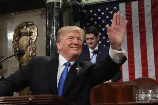 Donald Trump, sus amigos y su discurso sobre el Estado de la Unión