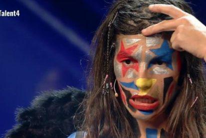 """El cabreo sarraceno de una concursante de Got Talent con el jurado: """"Voy a incendiar el teatro"""""""