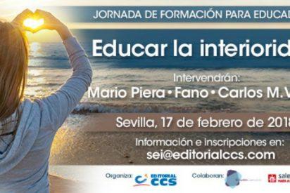 Jornada de formación de la Editorial CCS: 'Educar la interioridad'