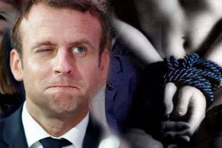 Emmanuel Macron autor de una novela porno