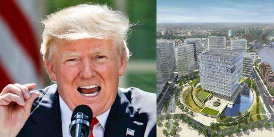 La embajada americana más cara del mundo que será inaugurada en Londres y Donald Trump detesta