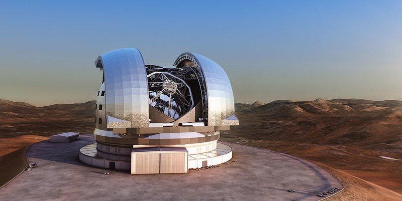 Empieza a tomar forma el ELT, el ojo más grande del mundo en el cielo
