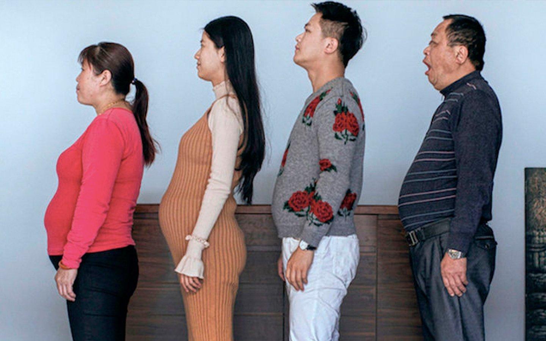 Esta familia china se pone a dieta seis meses y el resultado es impresionante