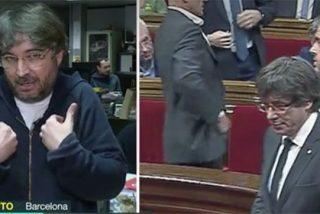 Évole está desesperado; le pide a Rajoy que se reúna con un golpista fugado de la Justicia