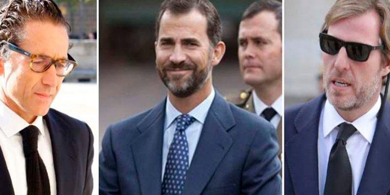 ¿Quiénes son los mejores amigos de Felipe VI?