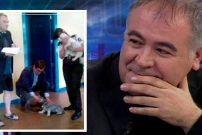 Cristina Pardo se parte la caja con la foto más 'comprometida' de Ferreras