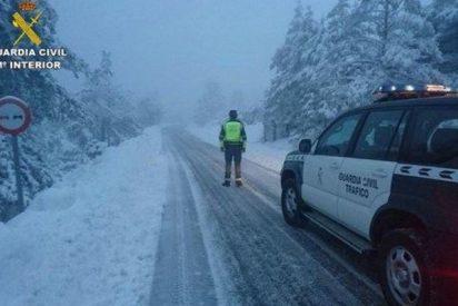 La DGT avisa de que la nieve puede afectar de nuevo a la AP-6 y a la A-1