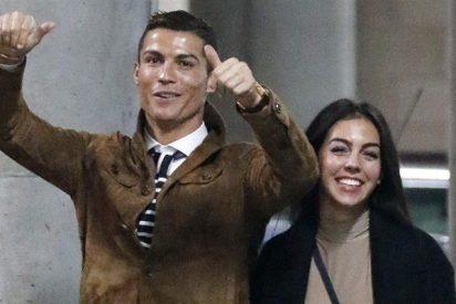 Georgina Rodríguez y Cristiano Ronaldo muestran a su pequeña Alana Martina en Instagram