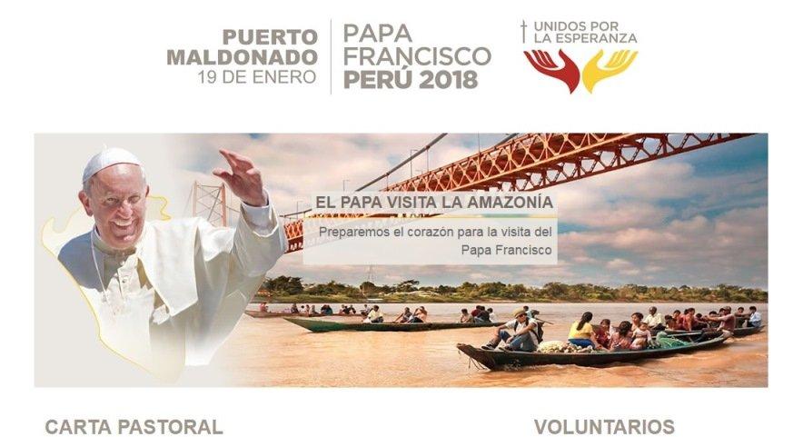 Papa Francisco, la Amazonía te espera