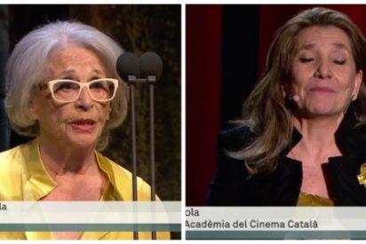 'El clan de la ceja' catalana convierte los Gaudí en un acto de propaganda golpista