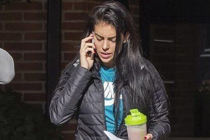 Georgina Rodríguez, la mujer de Cristiano Ronaldo, va a Hacienda con la ropa del gym