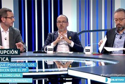 Lamentable espectáculo de Maroto (PP) dirigiendo sus latigazos a Girauta (C´s) ante la divertida mirada de Campuzano, Tardá y Echenique