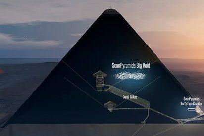 ¿Podría contener un trono de origen extraterrestre la extraña cámara de la Gran Pirámide de Guiza?