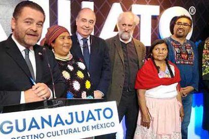 "Fernando Olivera, Secretario de Turismo de Guanajuato inauguró ""Punto Guanajuato"""