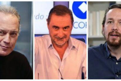 Bertín Osborne se desata con un recital de zascas a Podemos y un recadito envenenado a Carlos Herrera