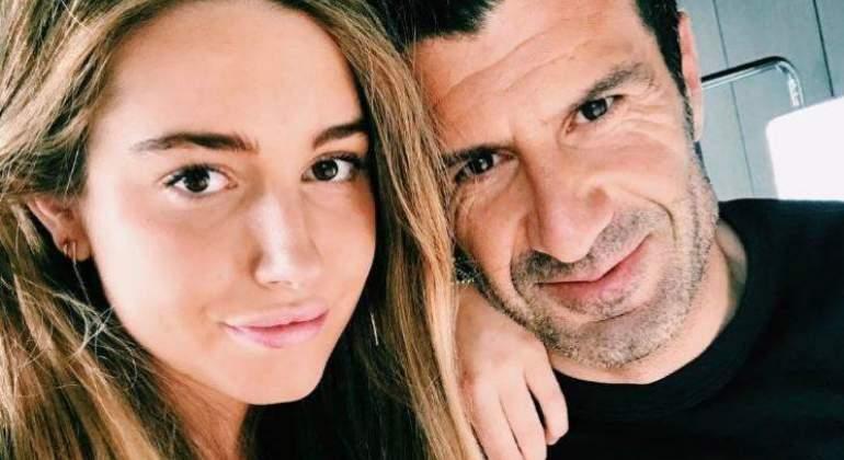 El falso lío sexual de la hija de Luis Figo y una impostora