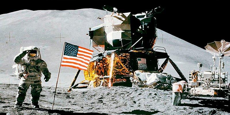 ¿Estuvieron los estadounidenses en la Luna? , los chinos tienen la respuesta y las pruebas