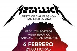 Hard Rock Café rinde su homenaje más especial a Metallica la noche antes de que la formación músical actúe en Barcelona