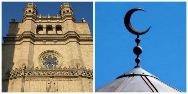 El Ayuntamiento de Castellón pone medias lunas islámicas para señalizar iglesias en su web