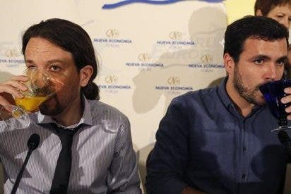 Indignación tuitera al trascender que ni Podemos ni IU acudieron al homenaje de Jiménez Becerril y su esposa en Sevilla